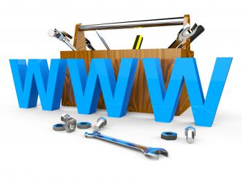 Online Tools Shows World Wide Web And Apparatus