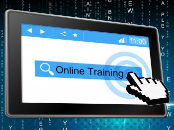 Online Training Shows World Wide Web And Www