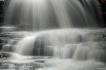 Onondaga Falls Close-up - HDR