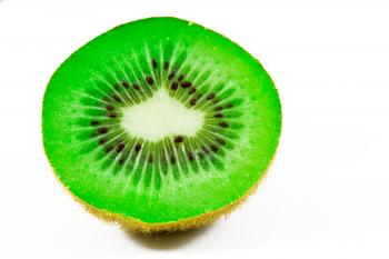 Open Kiwi Close-up