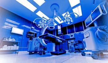 Operating Room - Operating Theatre - Surgery - Colorized
