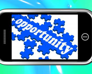 Opportunity On Smartphone Shows Big Chances
