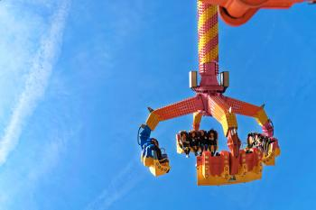 Orange and Yellow Carnival Ride-on