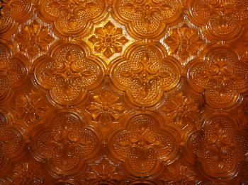 Orange Glass Texture