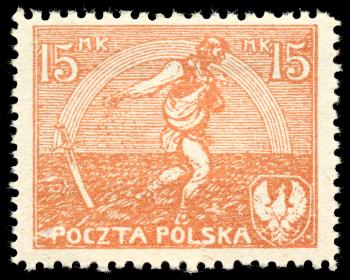 Orange Sower Stamp