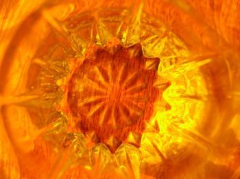 Orange Starburst