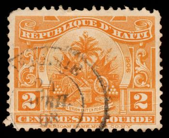 Orange State Arms Stamp