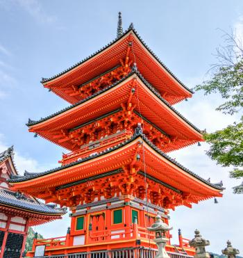 Orange  Temple