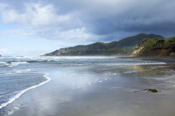 Oregon Coast in November, Beverly Beach