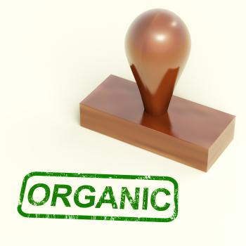 Organic Stamp Shows Natural Farm Foods