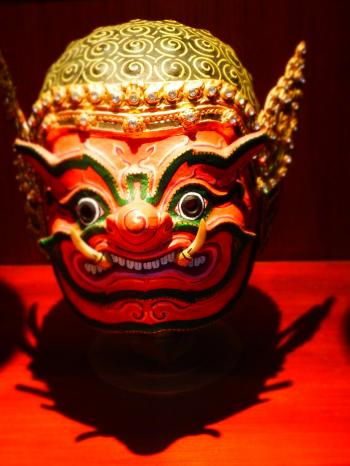 Oriental Puppet Mask