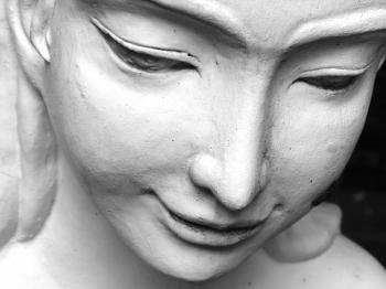 Oriental Statue of a Woman