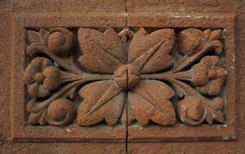 Ornate Floral Brick