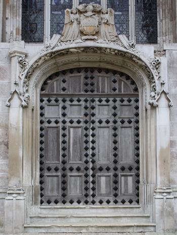 Ornate Medieval Door.