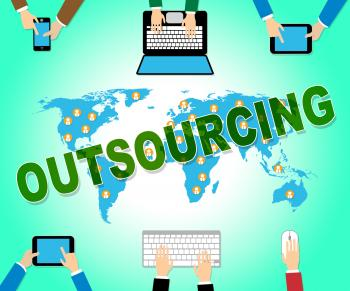 Outsourcing Online Represents Web Site And Contractor