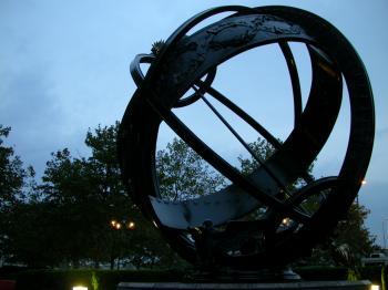 Oval sculpture