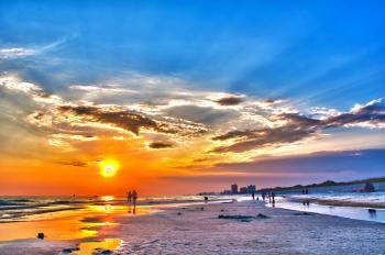 Panama city florida sunset