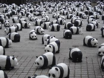 Panda Statues