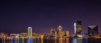 Panorama Photography of City at Night