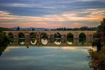 Panoramic Photo of Bridge
