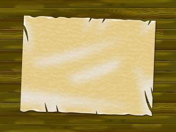 Paper Copyspace Means Antique Parchment And Ancient