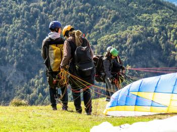 Paragliding Exercise