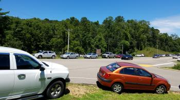 Parking situation at Old Man's Cave