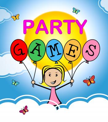 Party Games Shows Play Time And Celebrations