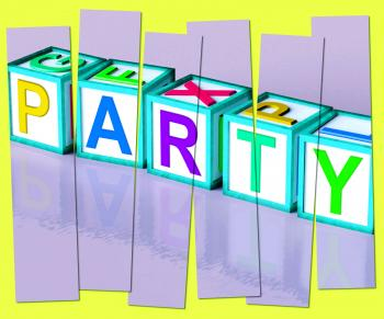 Party Word Mean Function Celebrating Or Drinks