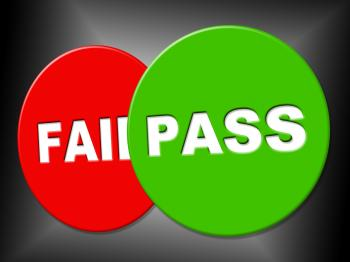 Pass Sign Shows Message Passed And Verified