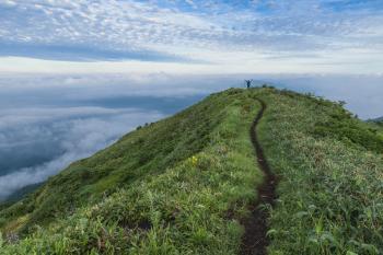 Path on the Summit