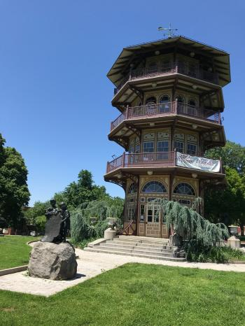Patterson Park Pagoda, Patterson Park near E. Pratt Street and S. Patterson Park Avenue, Baltimore, MD 21231