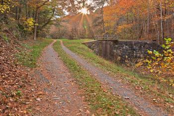 Paw Paw Sunburst Trail - HDR