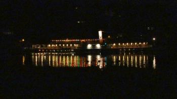 Peddle Steamer Leipzig + Swans