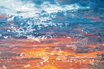 Peeling Paint Sunset