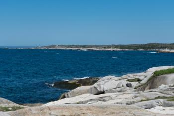Peggy's Cove shoreline