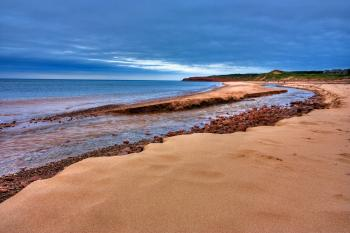 PEI Beach Scenery - HDR