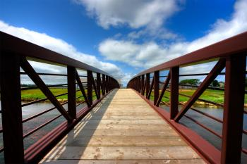 PEI Country Bridge - HDR