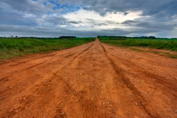 PEI Country Road - HDR