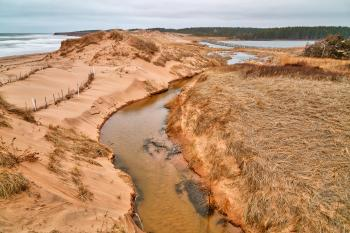 PEI National Park - Cavendish Beach Stream HDR