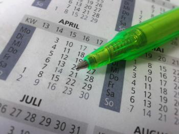 Pen and Calender