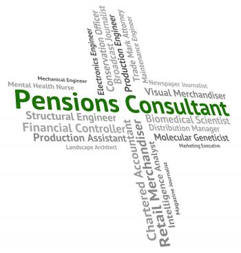 Pensions Consultant Represents Occupation Welfare And Employee