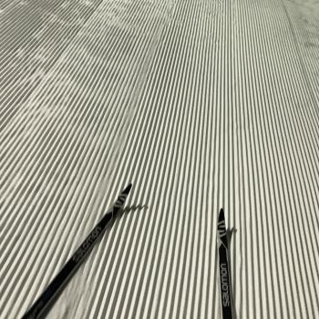 Perfect night for cross-country skiing @cypressmtn! Thanks grooming crew & mother nature for the sweet soft amazing corduroy :-) !