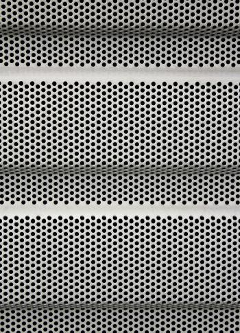 Perforated Steel Background