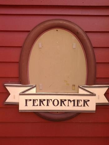 Performer Sign