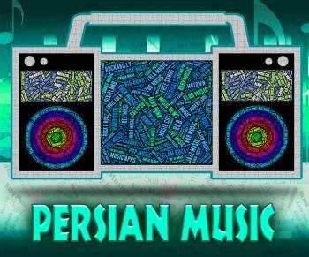 Persian Music Indicates Sound Tracks And Harmonies