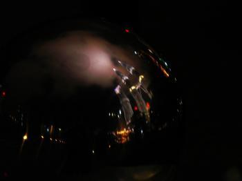 Petronas Reflection on Metal