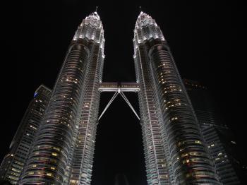 Petronas Tower during Nighttime