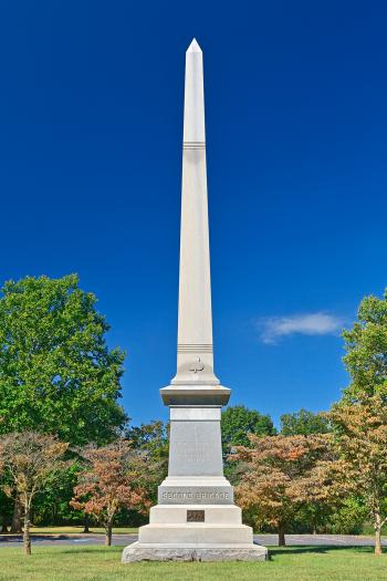 Philadelphia Second Brigade Monument - HDR