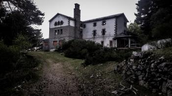 Photo of an Abandoned Concrete House